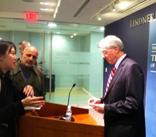 Ambassador Dennis Ross - photo Russ Imrie
