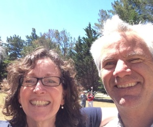 Nancy and Kevin Lunny June 2014 in Olema - photo Russ Imrie